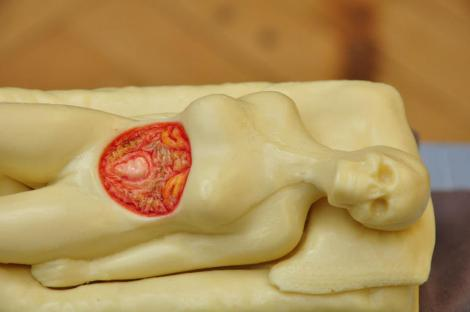 Anatomical Chocolate Venus from Cake for Breakfast - she's has since been re-homed from EYHO to my bedroom. I adore this so much.