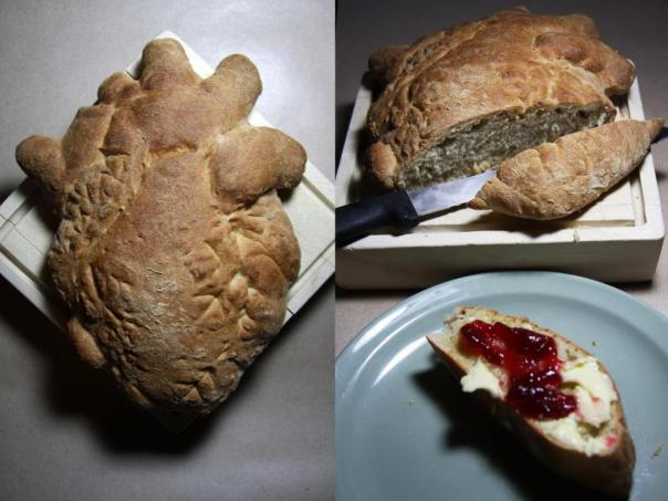 Anatomical Heart Bread from Miss Insomnia Tulip