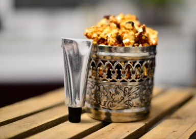 Mince-Pie Popcorn with Pine Syrup (1)