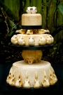 The Ultimate Skull Wedding Cake