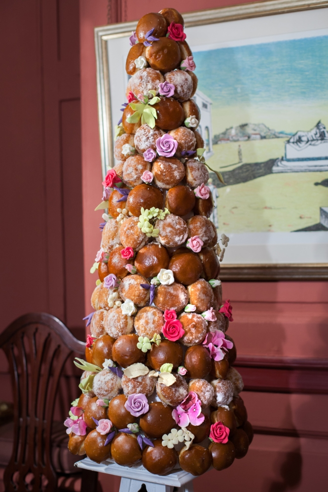 Doughnut tower by Cakeadoodledo